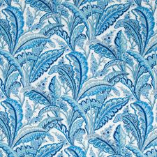 Marine Botanical Decorator Fabric by Brunschwig & Fils