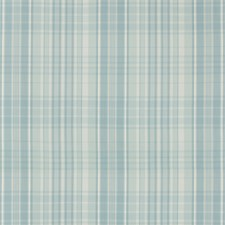 Aqua Plaid Decorator Fabric by Brunschwig & Fils