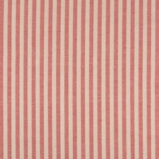 Red Stripes Decorator Fabric by Brunschwig & Fils