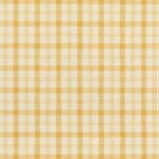 Yellow Plaid Decorator Fabric by Brunschwig & Fils