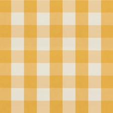 Yellow Plaid Decorator Fabric by Brunschwig & Fils