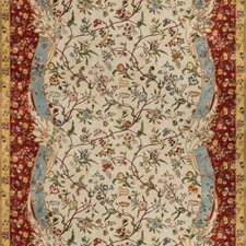Spice Botanical Decorator Fabric by Brunschwig & Fils