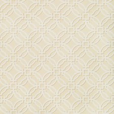Beige Geometric Decorator Fabric by Brunschwig & Fils