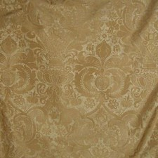 Gold Leaf Decorator Fabric by B. Berger