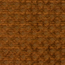 Rust Jacquard Pattern Decorator Fabric by S. Harris