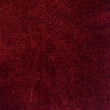 Cranberry Small Scale Woven Decorator Fabric by S. Harris
