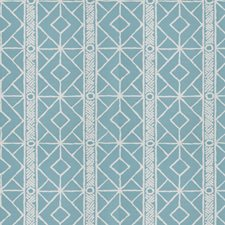 Seaglass Lattice Decorator Fabric by Stroheim