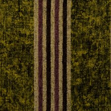 Golden Olive Stripes Decorator Fabric by S. Harris