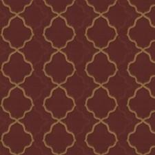 Chili Powder Jacquard Pattern Decorator Fabric by S. Harris