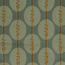 Peacock Geometric Decorator Fabric by S. Harris