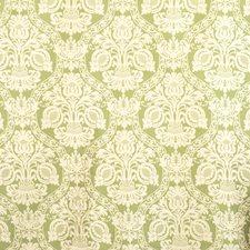 Spearmint Jacquard Pattern Decorator Fabric by S. Harris