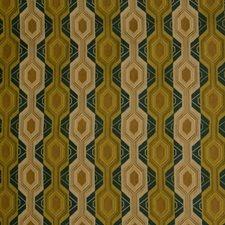 Mallard Geometric Decorator Fabric by S. Harris