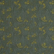 Aquatic Floral Decorator Fabric by S. Harris