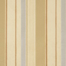 White Sand Stripes Decorator Fabric by S. Harris