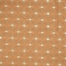 Carrot Geometric Decorator Fabric by S. Harris