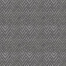 Pewter Herringbone Decorator Fabric by S. Harris