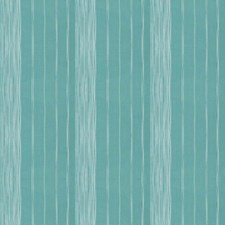 Turquoise Stripes Decorator Fabric by Trend
