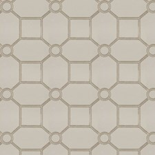 Ivory Embroidery Decorator Fabric by Trend
