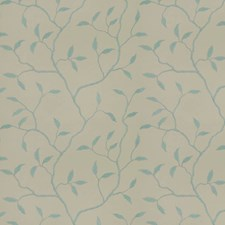 Mist Natural Embroidery Decorator Fabric by Trend