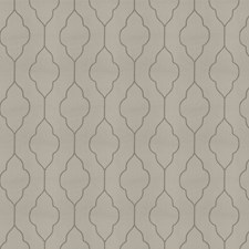 Warm Silver Embroidery Decorator Fabric by Trend