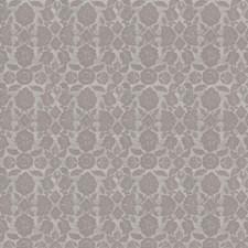 Grey Floral Decorator Fabric by Fabricut