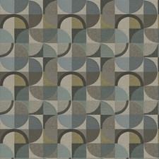 Spa Geometric Decorator Fabric by Trend
