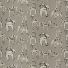 Smoky Quartz Animal Decorator Fabric by Vervain