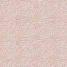 Blush Geometric Decorator Fabric by S. Harris