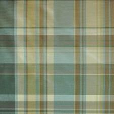 Gold/aqua Decorator Fabric by Duralee