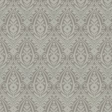 Grey Damask Decorator Fabric by Trend
