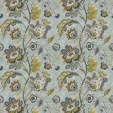 Aegean Floral Decorator Fabric by Trend