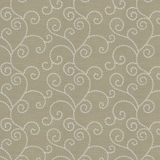 Barley Embroidery Decorator Fabric by Trend
