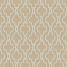 Beige Lattice Decorator Fabric by Trend