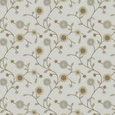 Celadon Embroidery Decorator Fabric by Fabricut