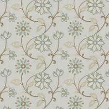 Mist Embroidery Decorator Fabric by Fabricut
