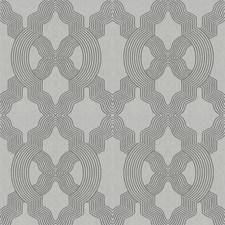 Grey Lattice Decorator Fabric by Fabricut