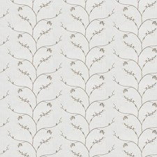 Latte Embroidery Decorator Fabric by Fabricut