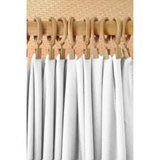 Thermafoam White Decorator Fabric by Greenhouse
