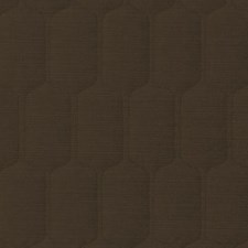 Cocoa Geometric Decorator Fabric by Duralee