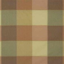 Yellow/Rust Check Decorator Fabric by Kravet