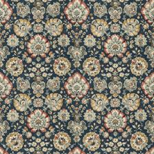 Sapphire Floral Decorator Fabric by Fabricut