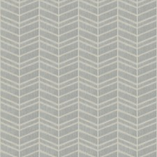 Ice Chevron Decorator Fabric by Trend