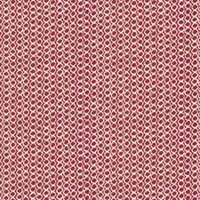 Fuchsia Geometric Decorator Fabric by Fabricut
