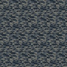 Blueberry Geometric Decorator Fabric by Fabricut