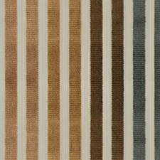Bourbon Gray Stripes Decorator Fabric by Vervain