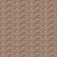 Mahogany Chevron Decorator Fabric by Vervain