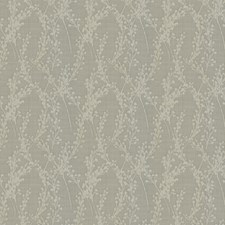 Ivory Floral Decorator Fabric by Trend