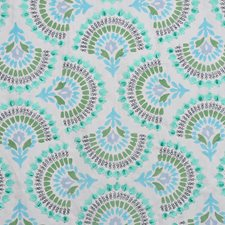 Peacock Decorator Fabric by RM Coco