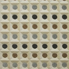 Taupe Geometric Decorator Fabric by Greenhouse
