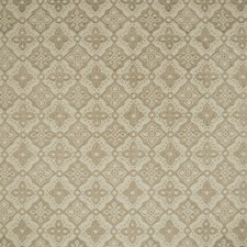 Beige Medallion Decorator Fabric by Greenhouse